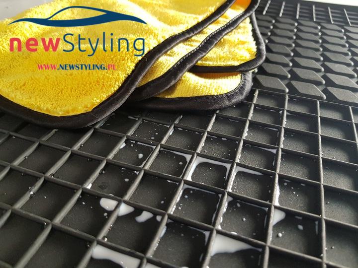 Dywaniki gumowe Passat B5 Czyszczenie gumowych dywaników samochodowych