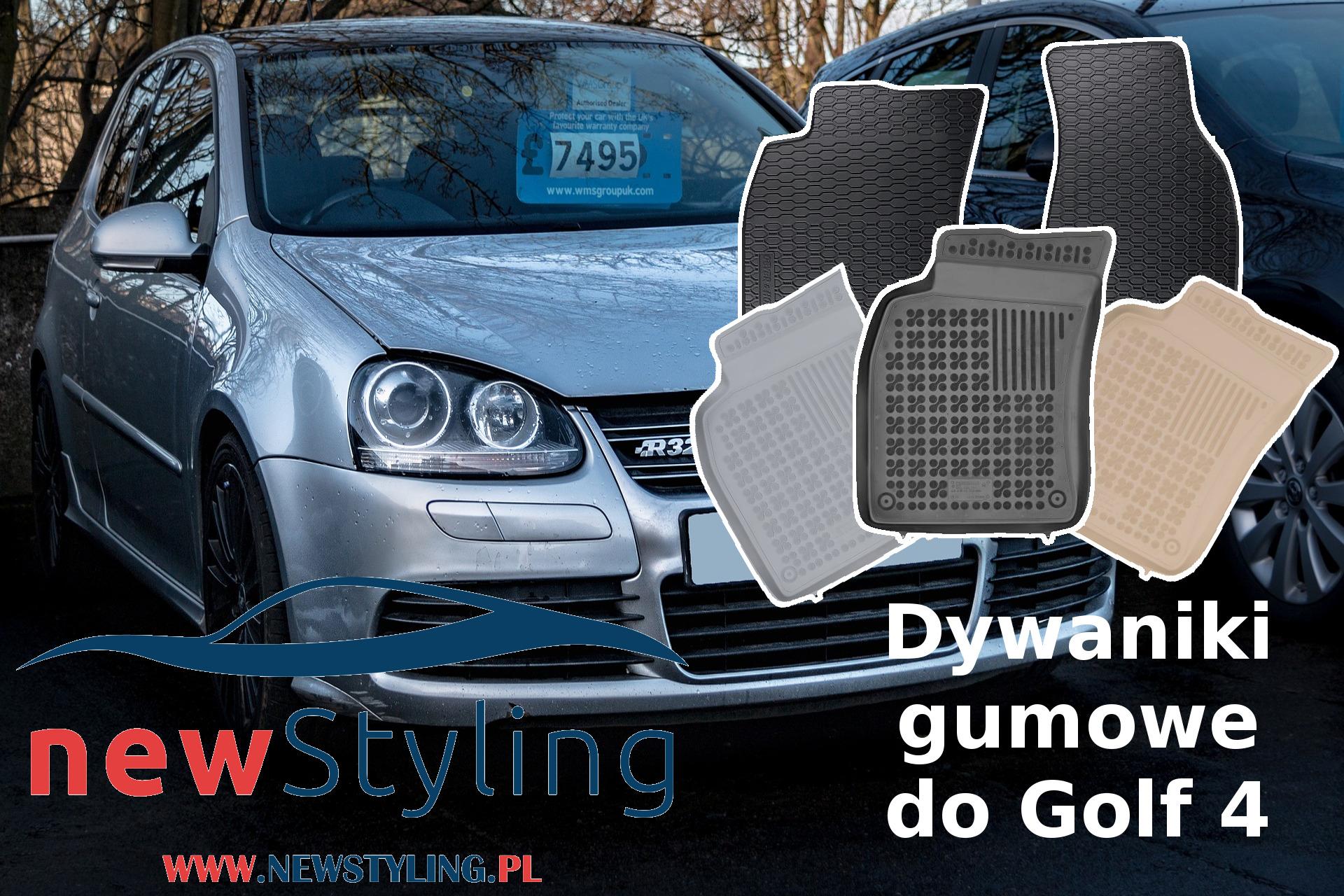 dywaniki gumowe Golf 4 dywaniki samochodowe dywaniki gumowe