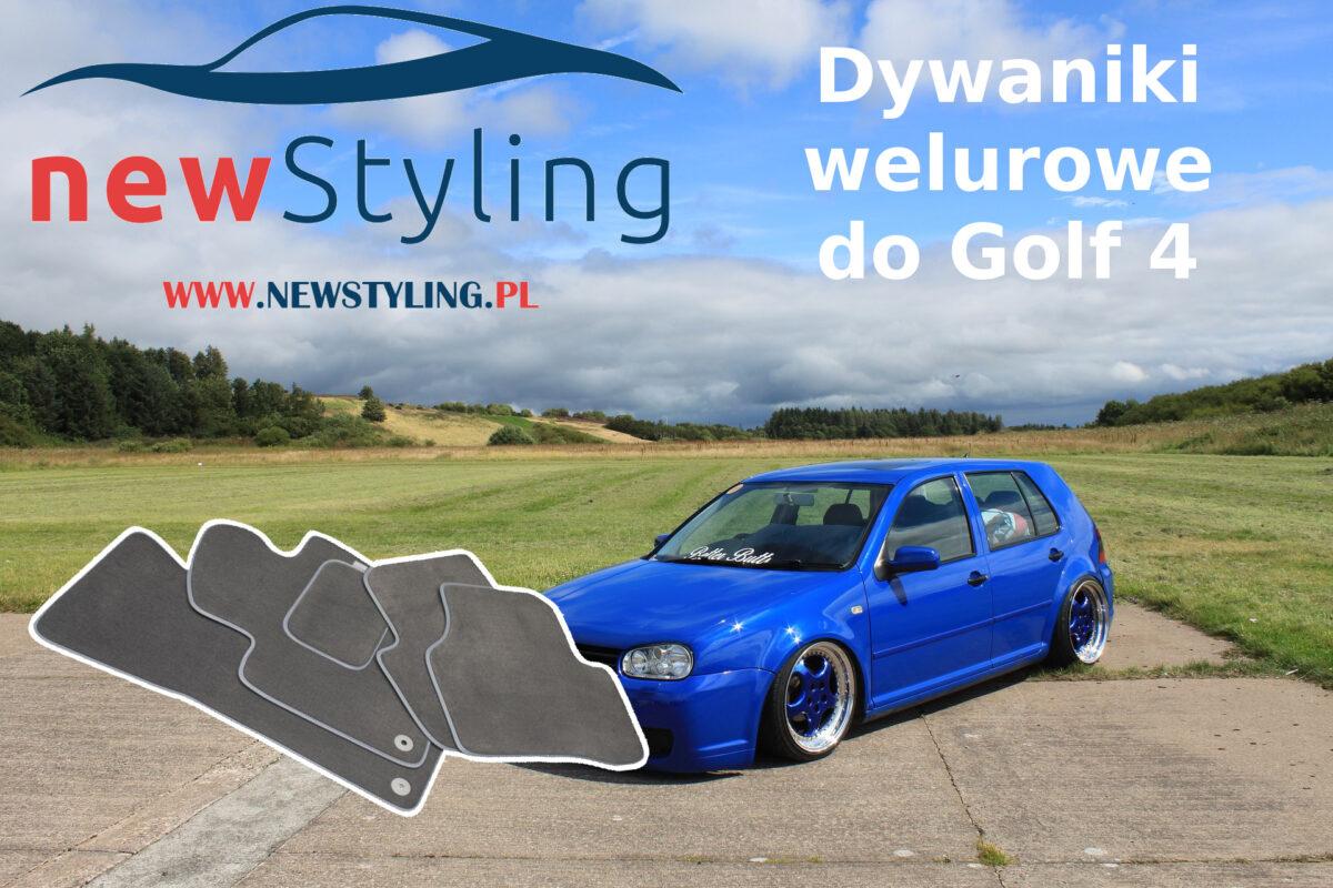 Dywaniki welurowe do Golf 4