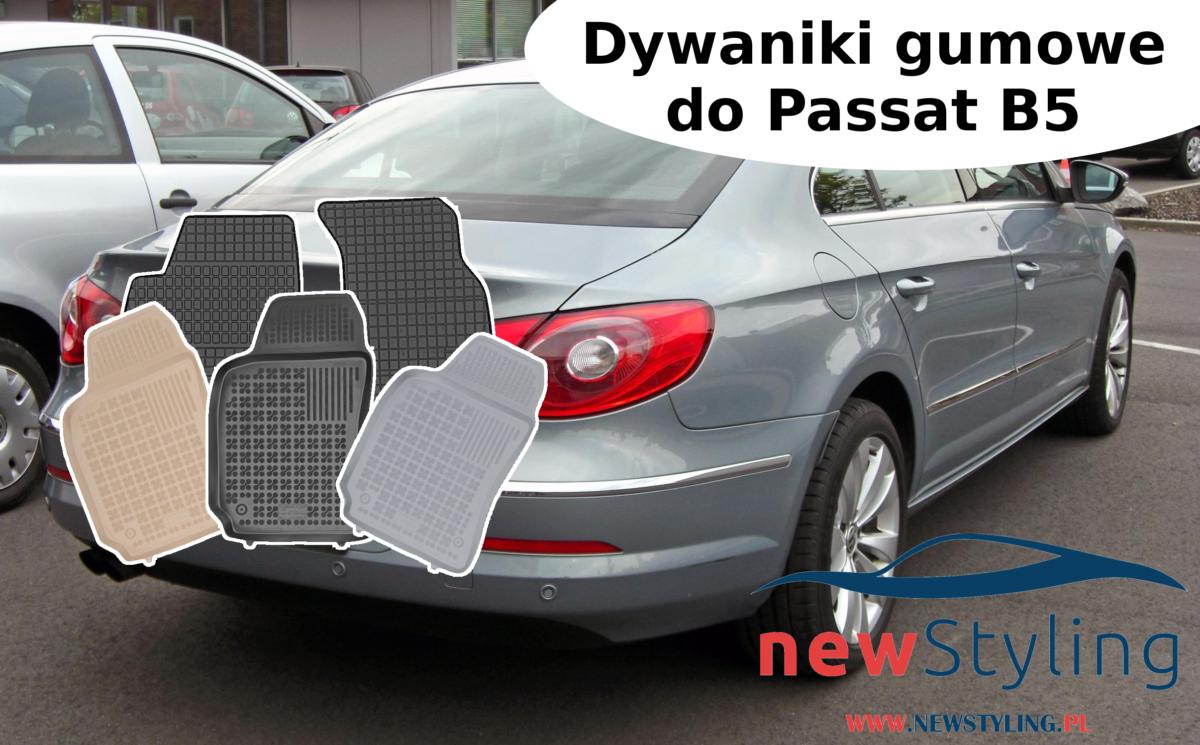 Dywaniki gumowe Passat B5