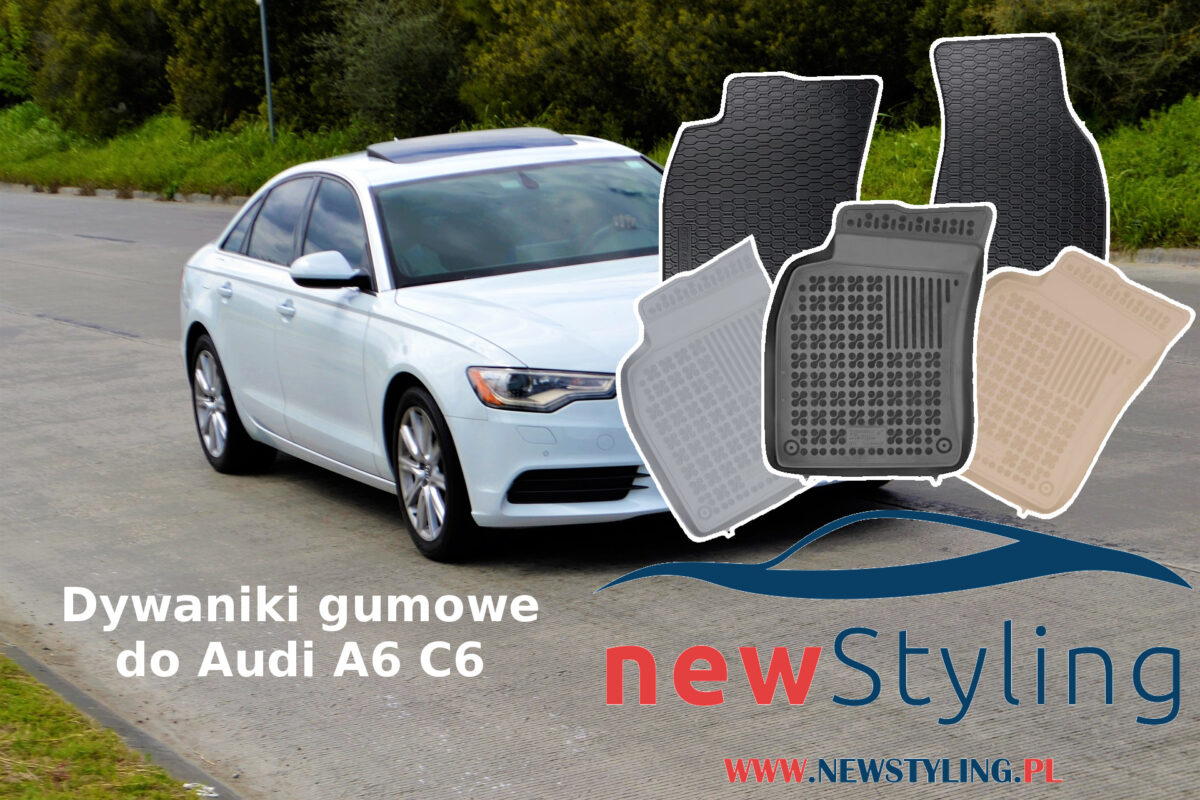 Dywaniki gumowe do Audi A6 C6