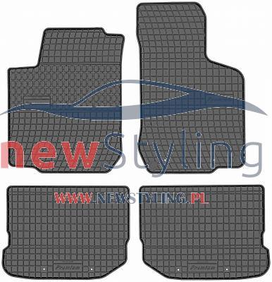 dywaniki gumowe Golf 4 dywaniki do samochodu dywaniki samochodowe gumowe