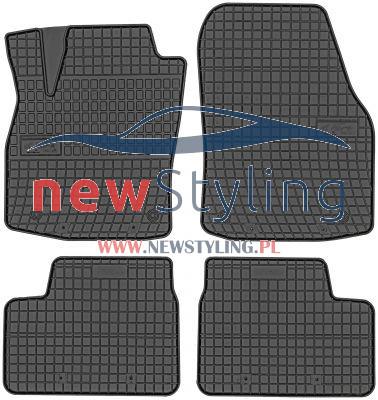 dywaniki gumowe do Opla Astra H dywaniki samochodowe dywaniki gumowe