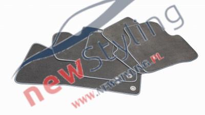 dywaniki welurowe Golf 4 dywaniki samochodowe dywaniki welurowe