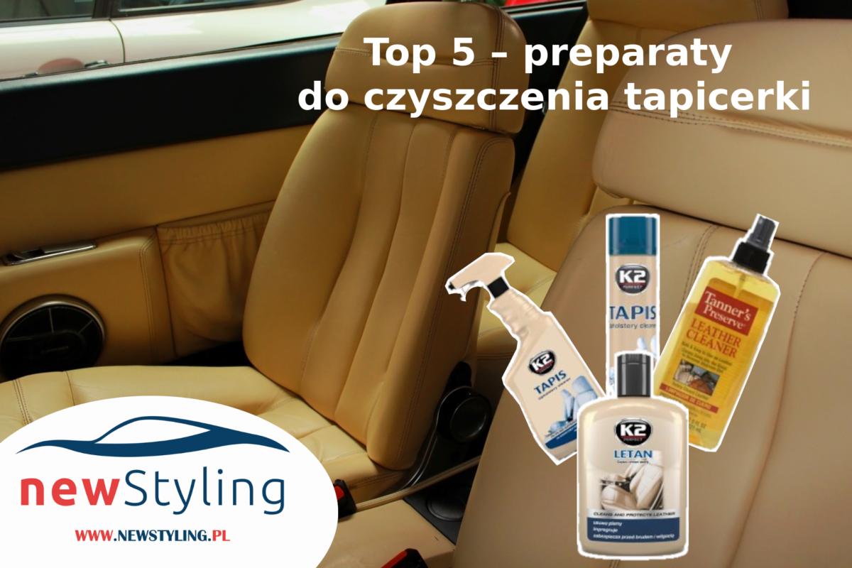 Top 5 – preparaty do czyszczenia tapicerki