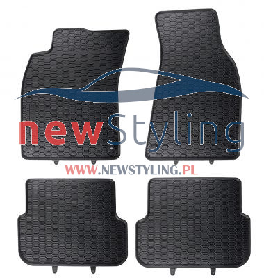 dywaniki gumowe audi A6 C6 dywaniki samochodowe dywaniki gumowe