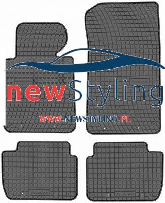 dywaniki gumowe do BMW E46 dywaniki samochodowe dywaniki gumowe