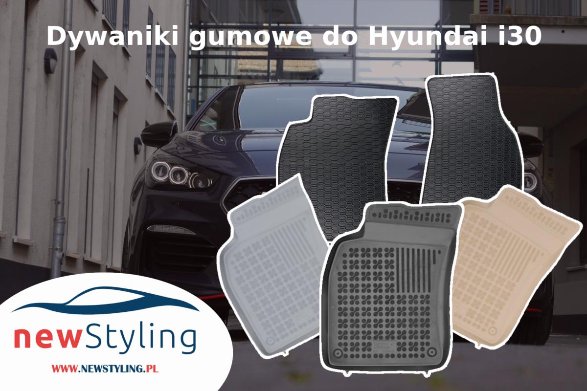 Dywaniki gumowe do Hyundai i30
