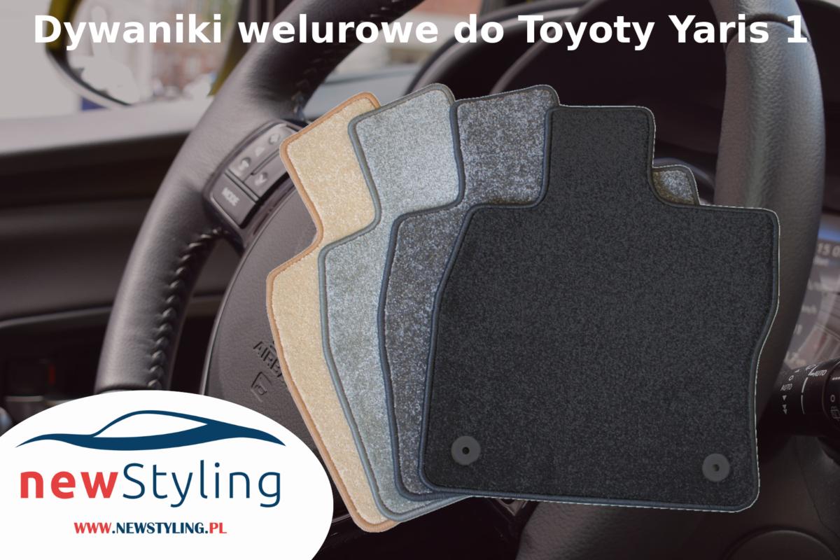Dywaniki welurowe do Toyoty Yaris 1